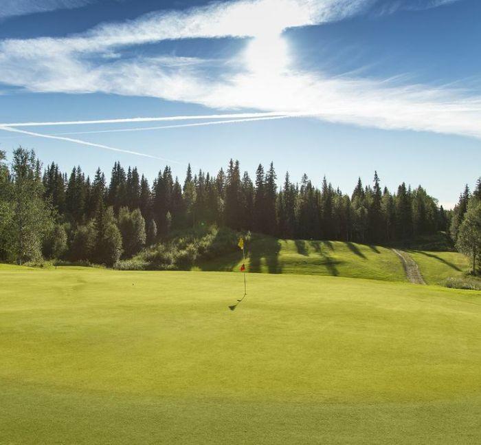 Åre golfklubb Hål 14