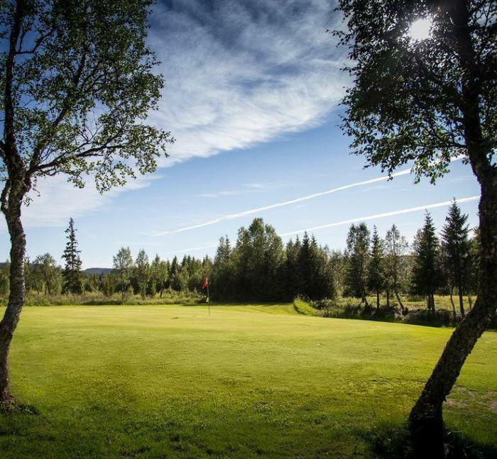 Åre golfklubb Hål 5