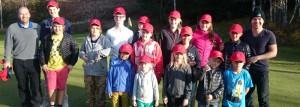 golf junioravslutning