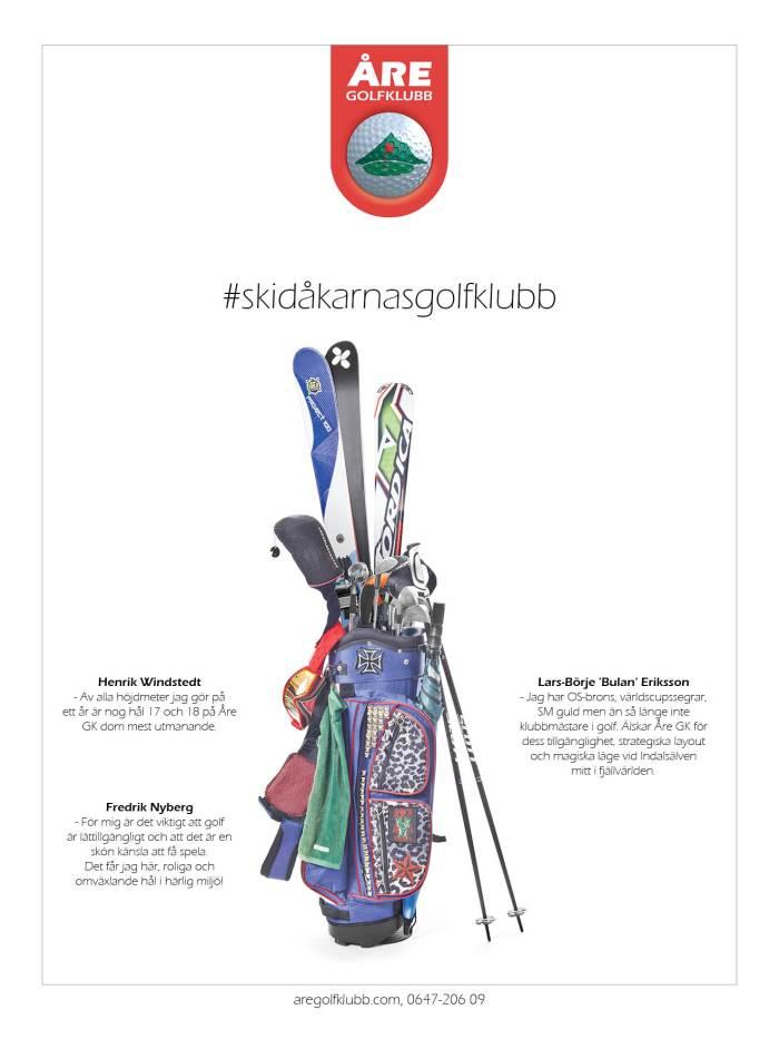 Skidåkarnas golfklubb