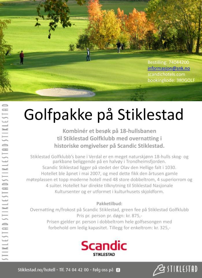 Golfpaket i Norge