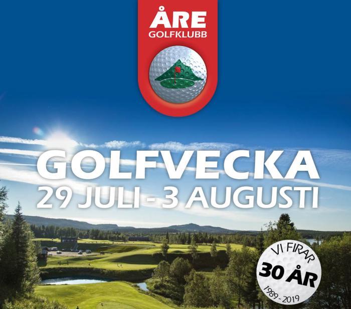 Åre golfvecka 2019
