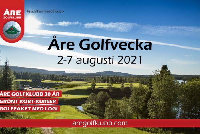 Åre golfvecka 2021